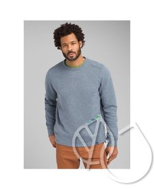 Prana Norcross Long Sleeve Crew BLUE NOTE HEATHER F19