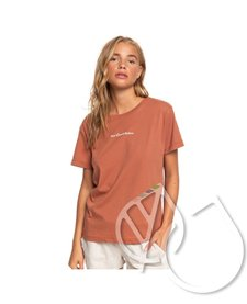 Roxy Sun Kissed Babes Boyfriend Tee -CEDAR WOOD F19