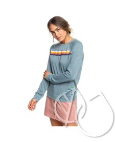 Roxy Wishing Away Sweatshirt Tropper BLN0