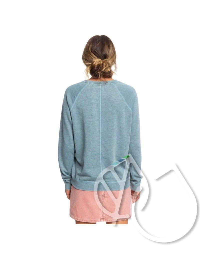 Roxy Roxy Wishing Away Sweatshirt Tropper BLN0