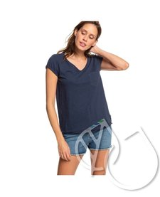 Roxy Perfect Kind Of Session V-Neck Pocket Tee