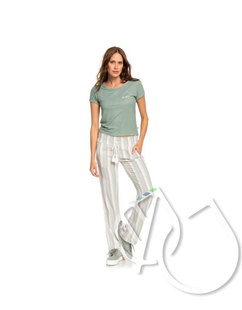 Roxy Roxy Frozen Day Rib Knit Short Sleeve Top