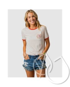 Rip Curl Island Time Ringer Tee