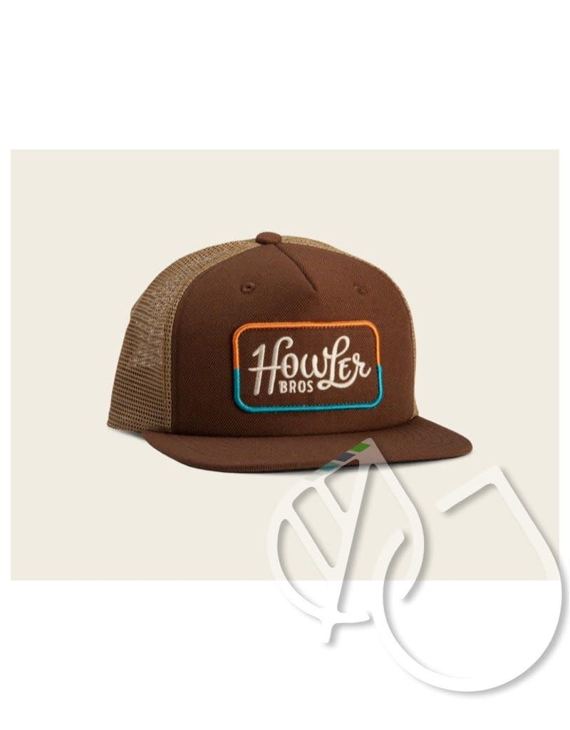 Howler Brothers Howler Brothers Howler Classic Snapback Brown/Gold