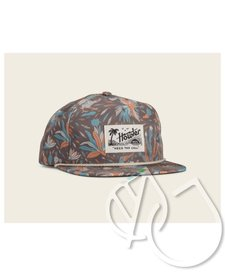 Howler Brothers Gallos Galore Print Snapback Espresso