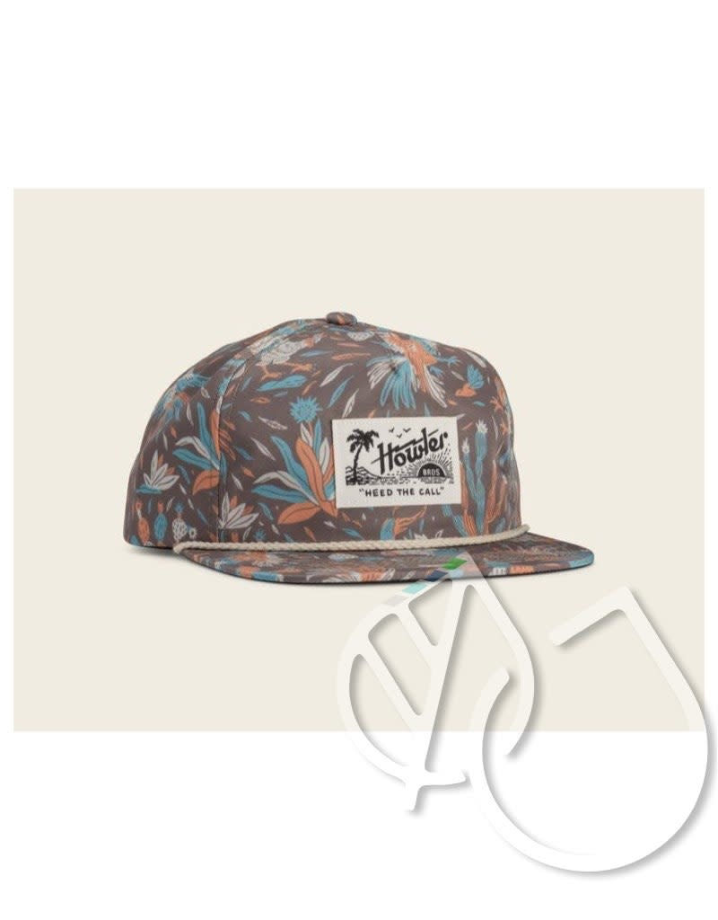 Howler Brothers Howler Brothers Gallos Galore Print Snapback Espresso