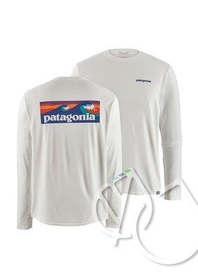 Patagonia Patagonia Men's Long-Sleeved Capilene Cool Daily Graphic Shirt