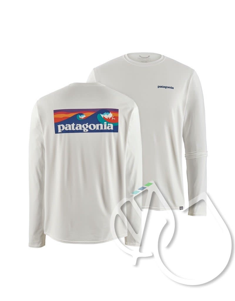 Patagonia Patagonia Men's Long-Sleeved Capilene Cool Daily Graphic Shirt