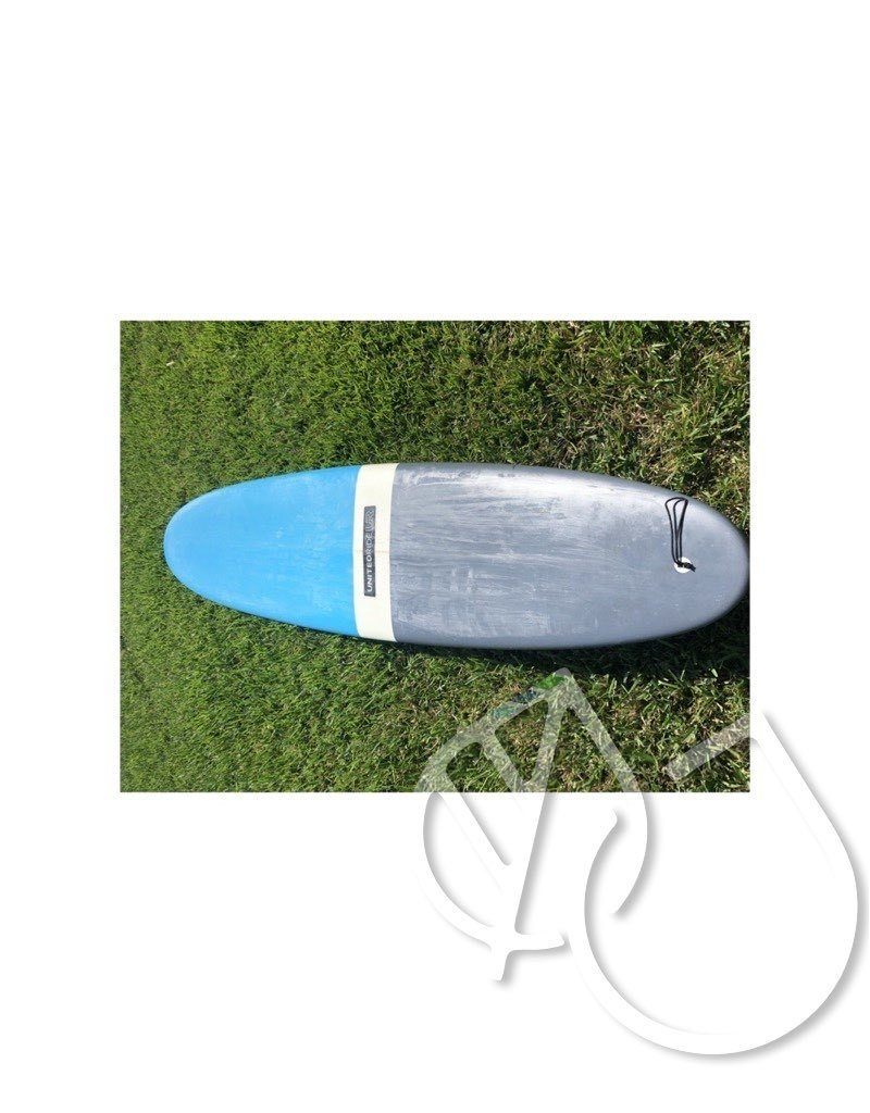 """United Ride United Ride Surfboard 9'0"""" Blue/Gray -USED"""