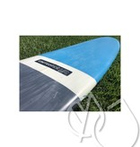 "United Ride United Ride Surfboard 9'0"" Blue/Gray -USED"
