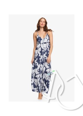 Roxy Roxy Sweety Smile Strappy Jumpsuit -MOOD INDIGO FLYING FLOWERS S (bsp6)