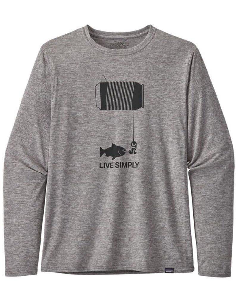 Patagonia Patagonia Men's Cap Cool Daily L/S Graphic Shirt