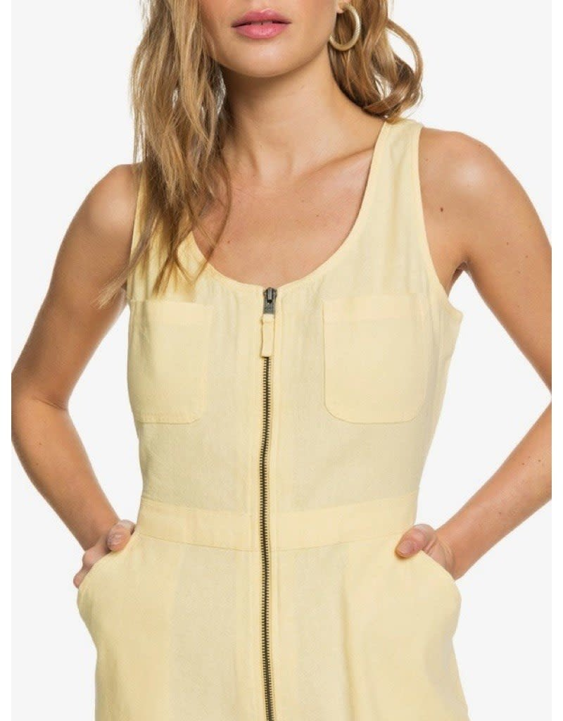 Roxy Roxy Roll Up Your Sleeve Zipped Playsuit