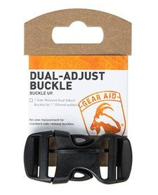 GEAR AID DUAL ADJUST BUCKLE 1""