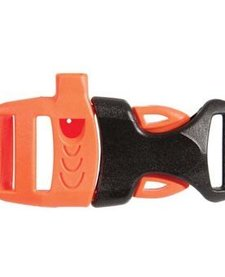 WHISTLE BUCKLE 3/4in Orange