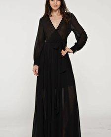 Sheer Maxi Dress