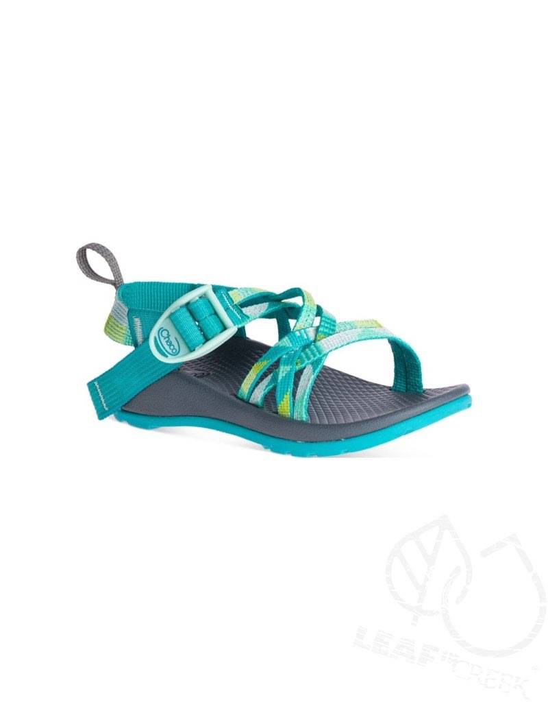 e239d74dab41 Chaco Kid s ZX1 Ecotread Puzzle Opal - Leaf in Creek Earthpedition