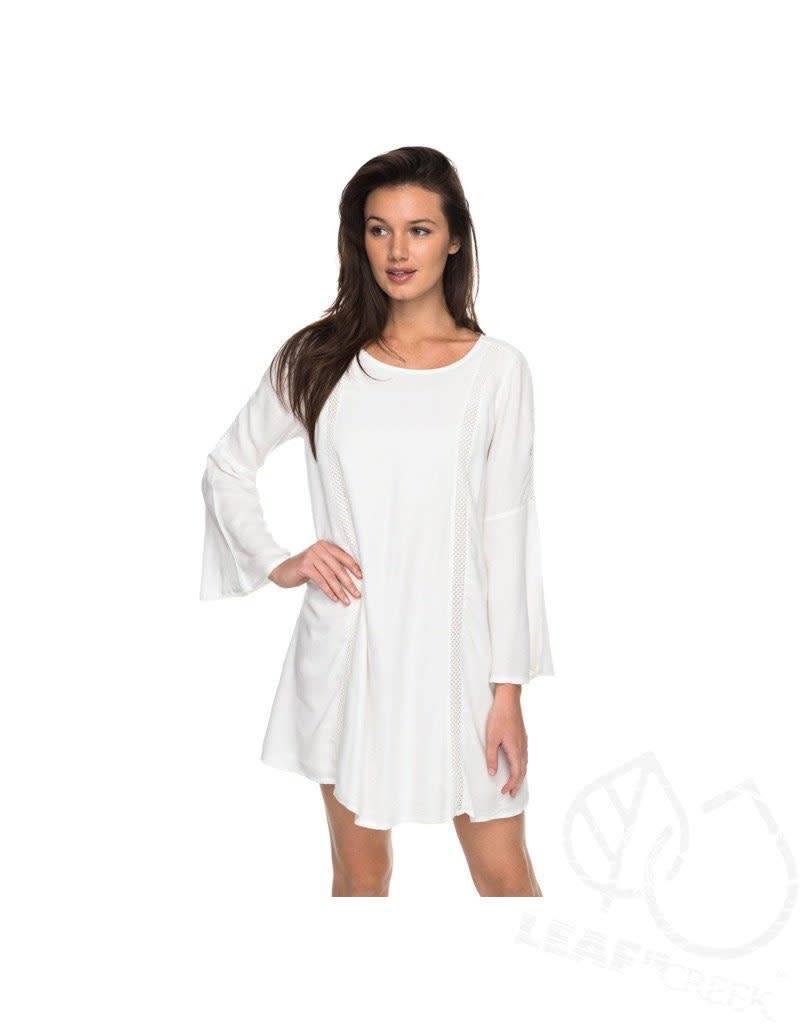 Roxy Roxy East Coast Dreamer Bell Sleeve Dress