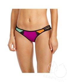 Body Glove Bounce Flirty Surf Rider Bikini Bottoms Magnolia