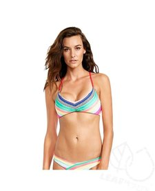 Body Glove Joy Mika Criss Cross Back Bikini Top Multi