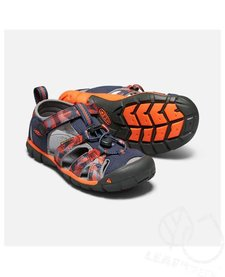 Keen Kids Seacamp II CNX Dress Blues / Spicy Orange