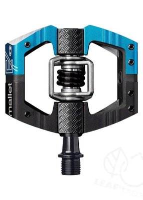 Crank Brothers Crank Brothers Mallet Enduro Long Spindle Pedals: Blue/Black