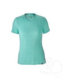 Patagonia Women Capilene Daily T-shirt Strait Blue - Bend Blue X-Dye
