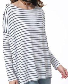 Piko Striped Long Sleeve Tee