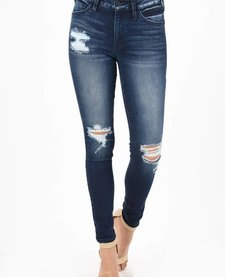 Kan Can Distressed Skinny Med