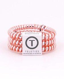 Teleties Small Hair Ties 3 pack Millenial Pink