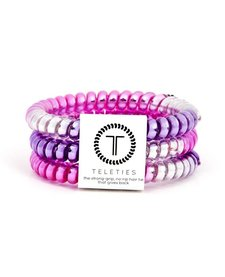 Teleties Small Hair Ties 3 pack Stardust