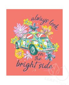 Anna Grace Bright Side VW Beetle Short Sleeve Comfort Colors Tee
