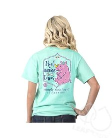 Simply Southern Real Unicorns Rhino Tee