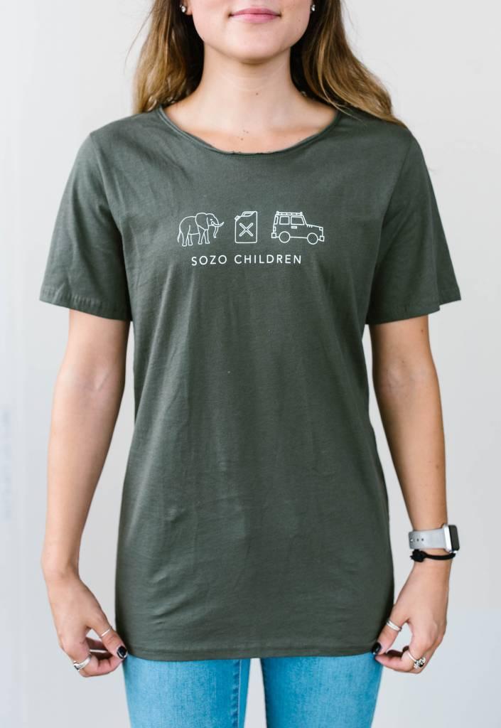 Sozo Raw Neck T-Shirt