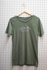 Sozo Raw Neck T-Shirt