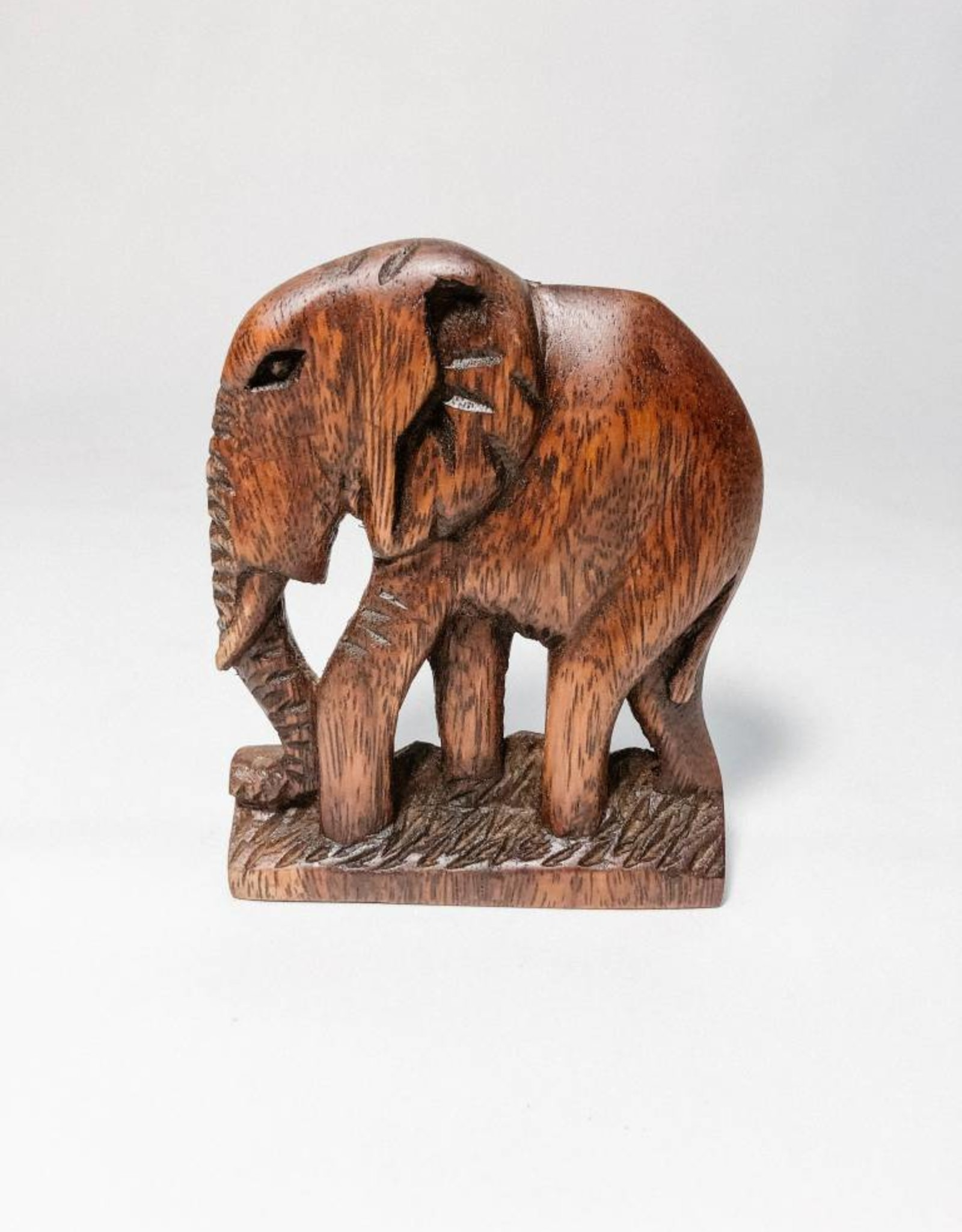 UG Wooden Elephant Plaque Small