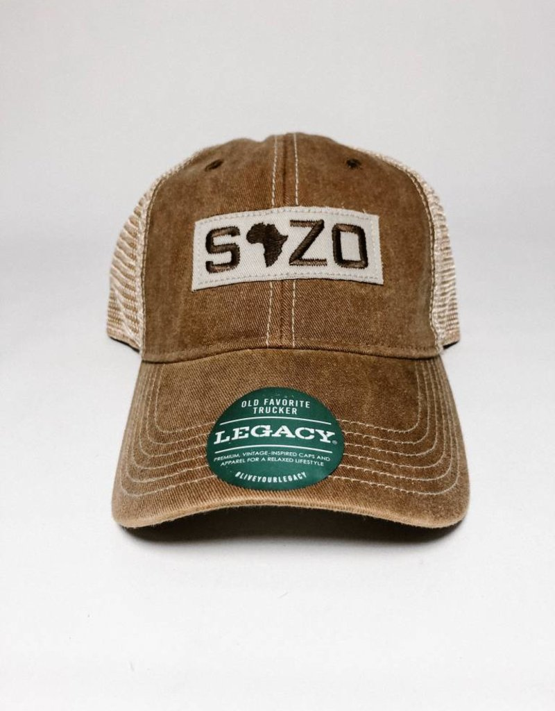 Sozo Logo Hat Brown