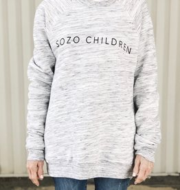 Sozo Marbled Sweatshirt