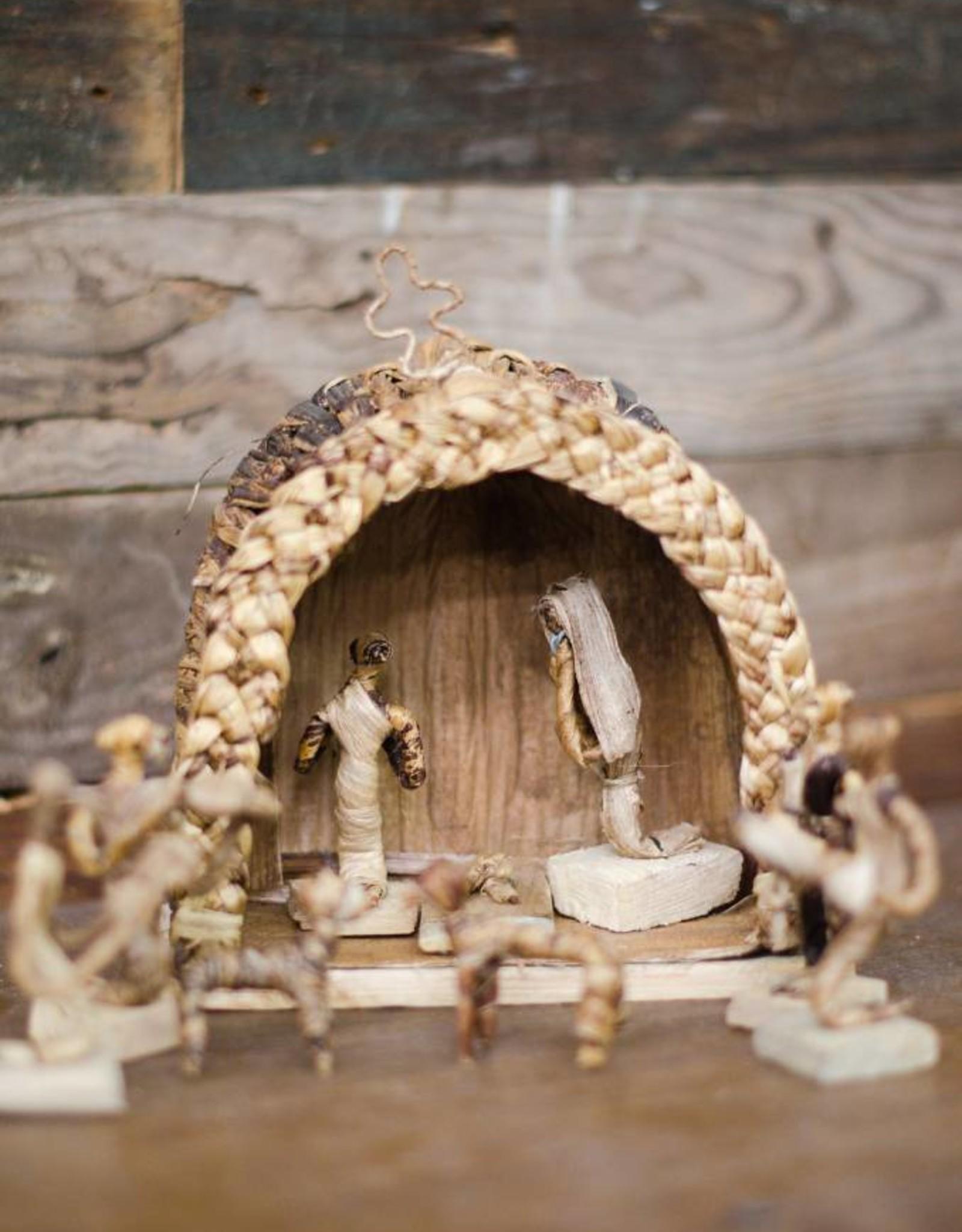 UG Grass Nativity Scene