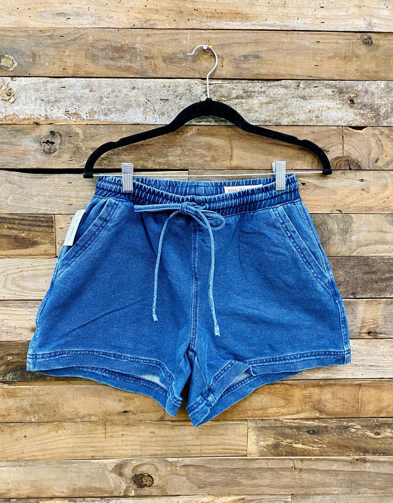 Halo Indigo Shorts