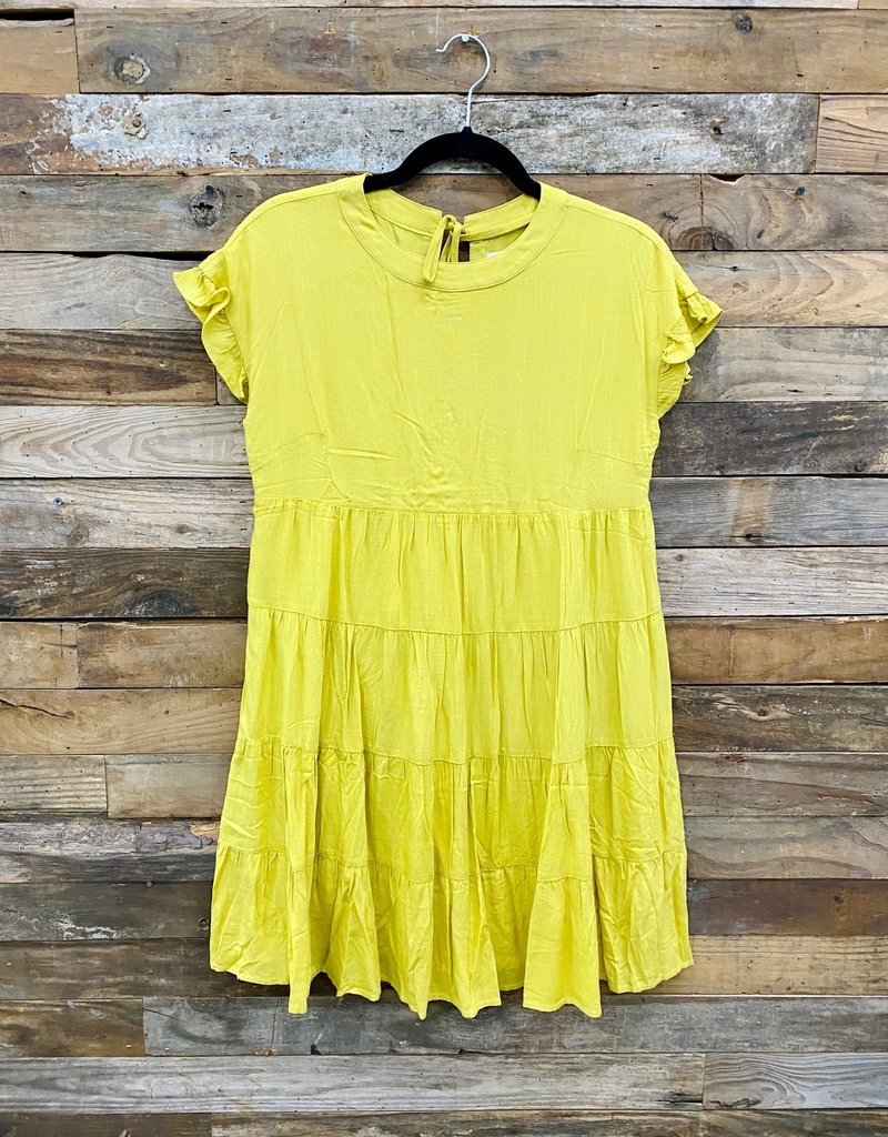 Halo Ruffled Sleeveless Dress