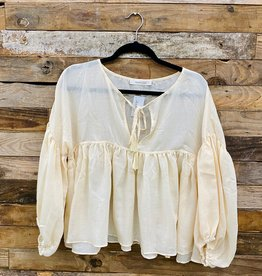 Halo Tassel Blouse
