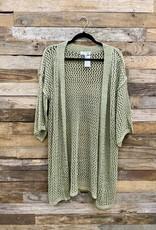 Halo Green Kimono One Size