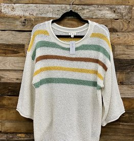 Halo Striped Sweater