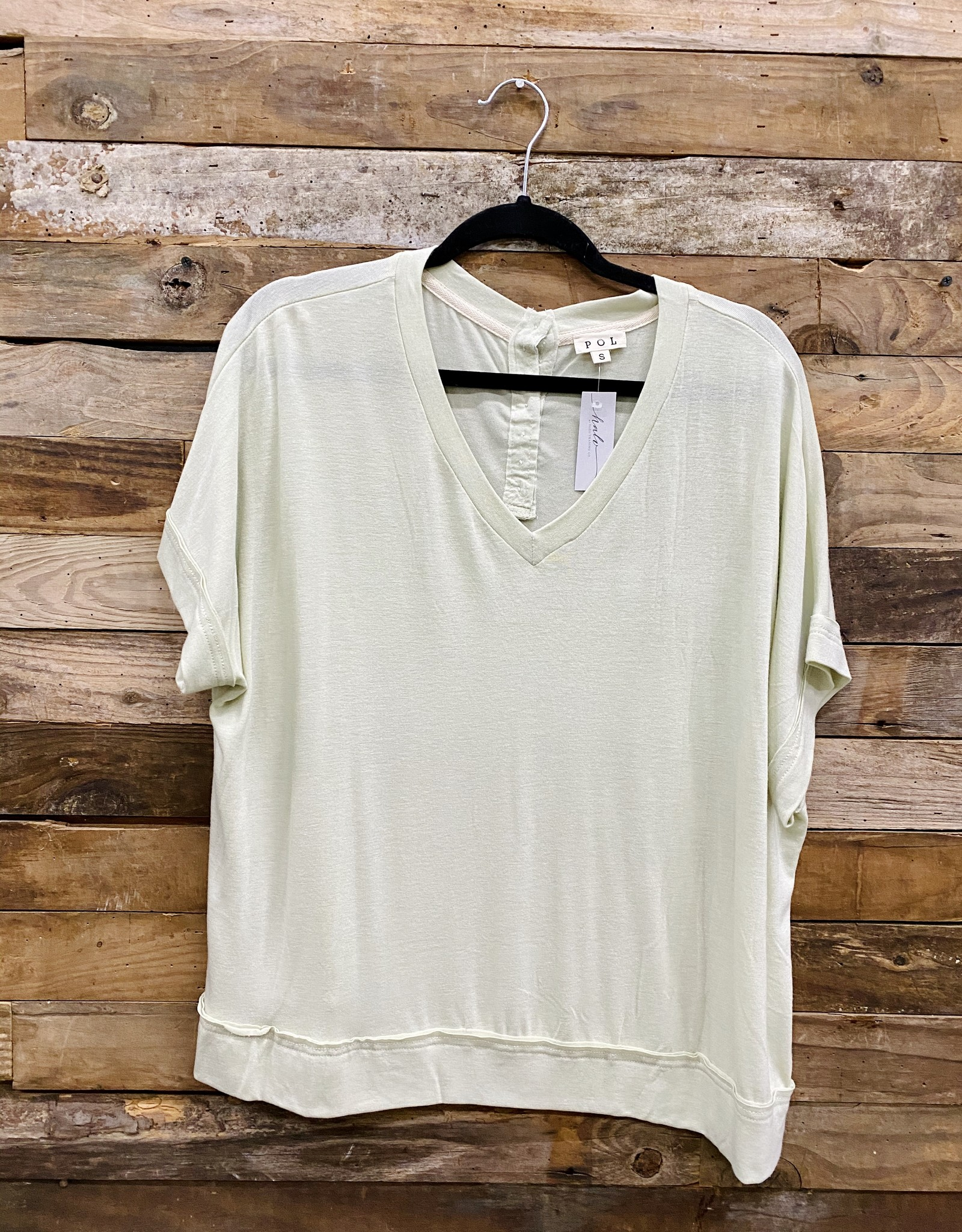 Halo Pistachio Ice V-Neck