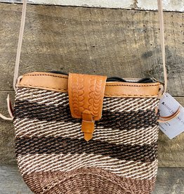 UG Woven Leather Purse