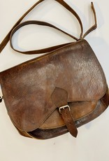 Halo Leather Satchel