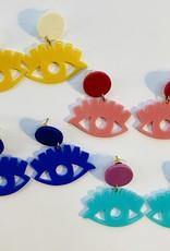 Halo Eye Earrings