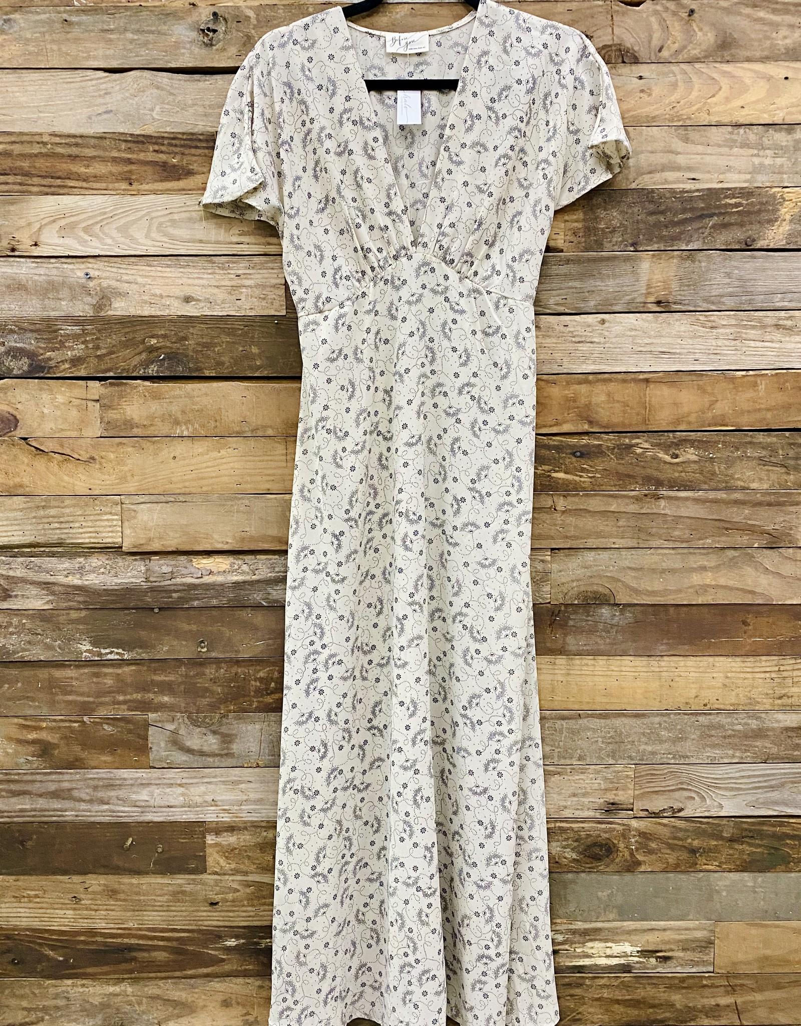 Halo Floral Midi Dress