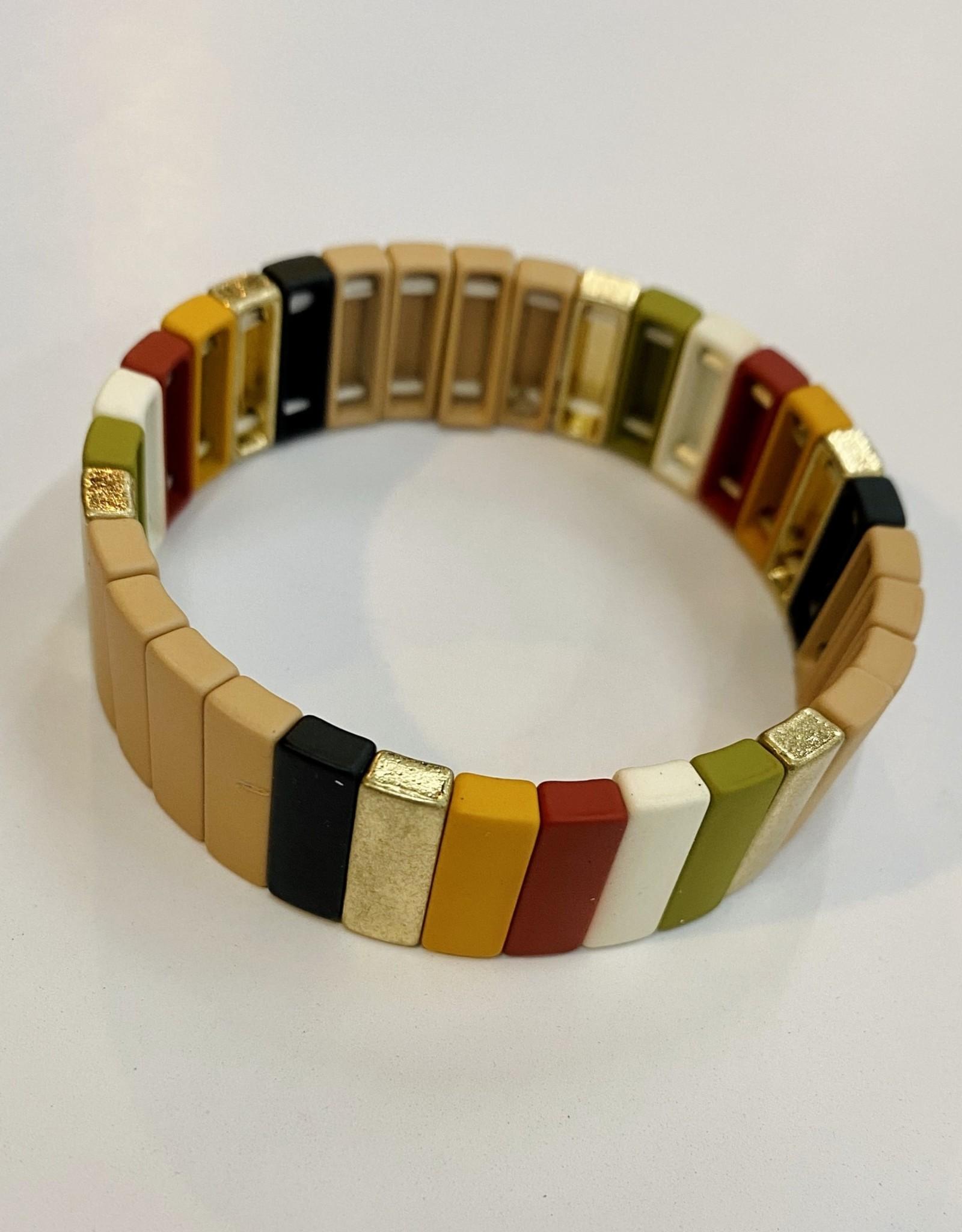 Halo Colorblock Bracelet